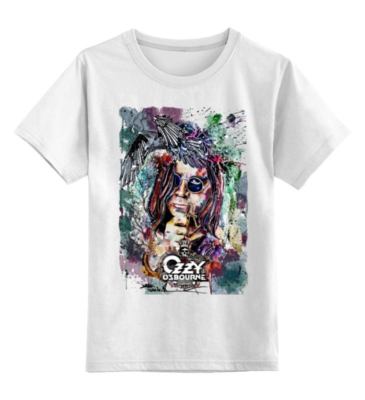 Детская футболка классическая унисекс Printio Ozzy osbourne оззи осборн ozzy osbourne down to earth
