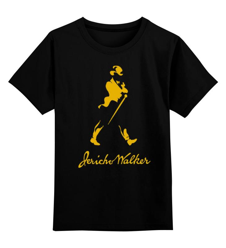 Детская футболка классическая унисекс Printio Джонни уокер уокер приманка в спб