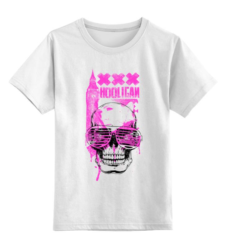 Детская футболка классическая унисекс Printio Хулиганка ostin футболка с ярким принтом