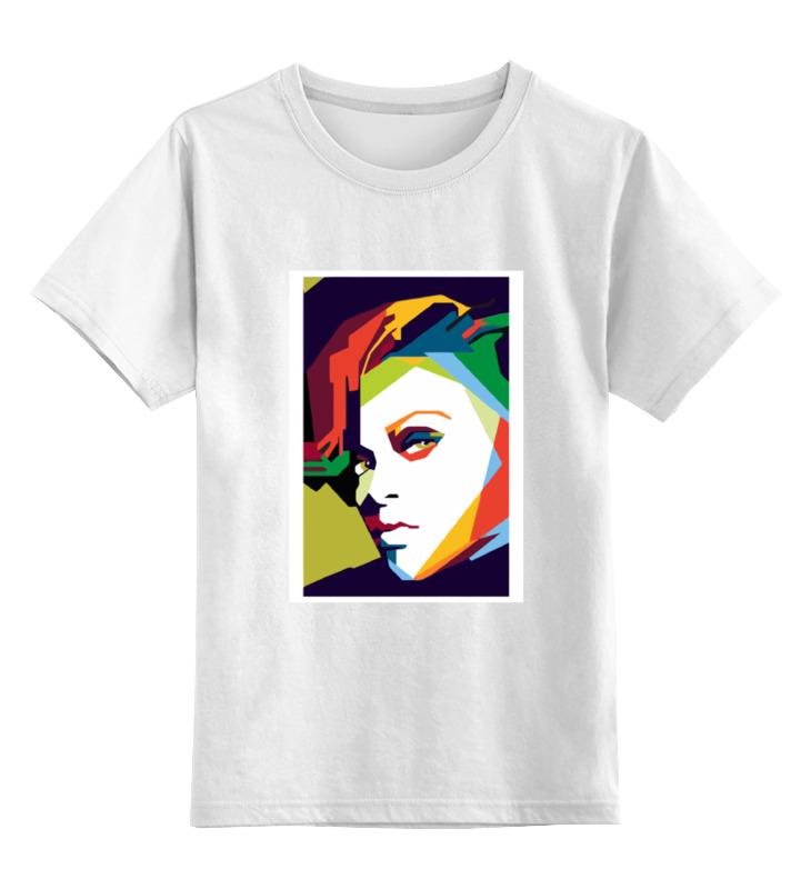 Детская футболка классическая унисекс Printio Рианна (rihanna)