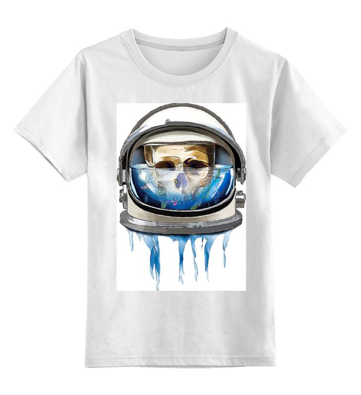 Детская футболка классическая унисекс Printio Dead astronaut
