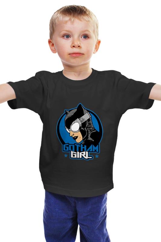 Детская футболка классическая унисекс Printio Женщина-кошка детская футболка классическая унисекс printio мачете