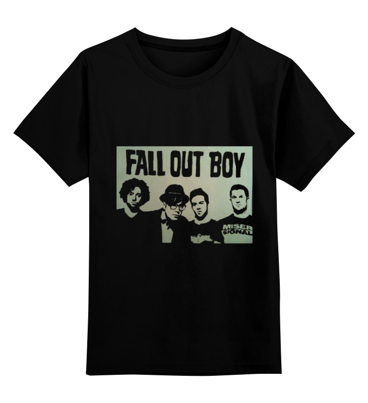 Детская футболка классическая унисекс Printio Fall out boy худи print bar fall out boy