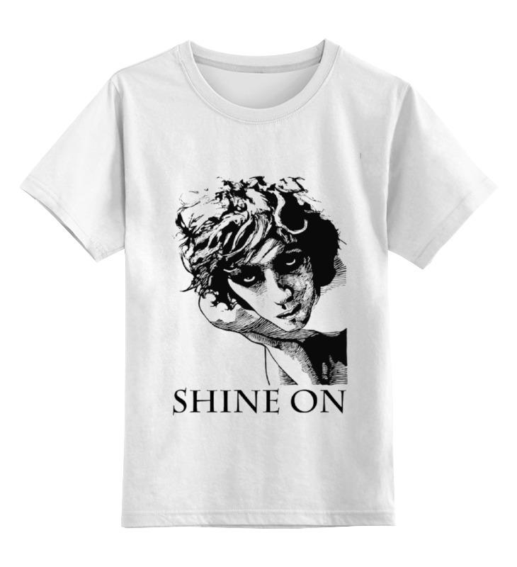 Детская футболка классическая унисекс Printio Syd barret shine on yongnuo syd 0808