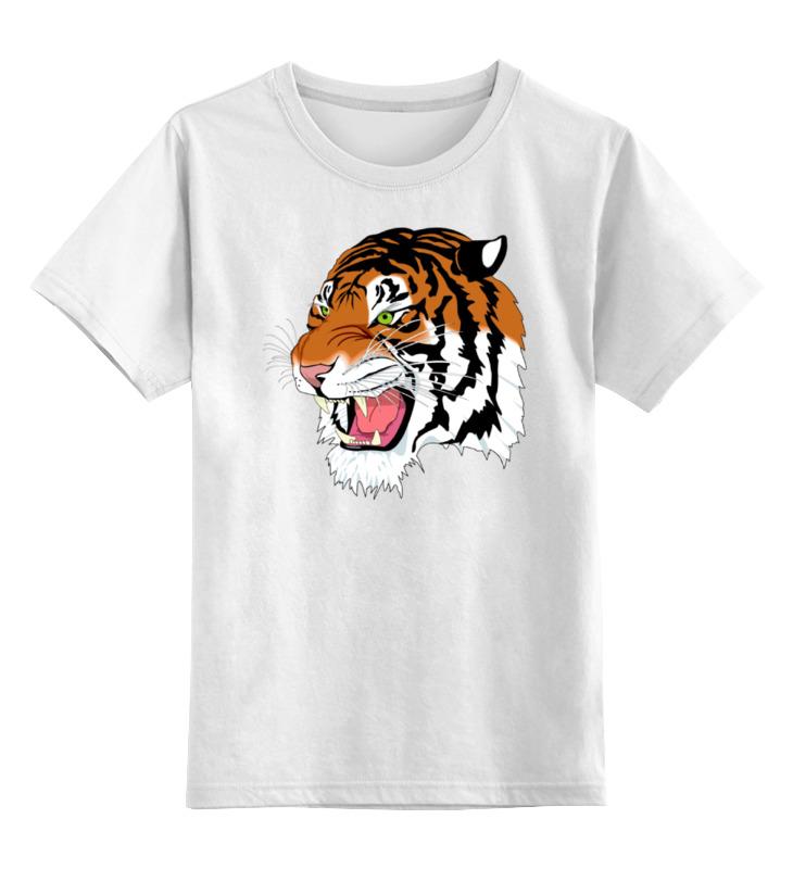 Printio Тигр детская футболка классическая унисекс printio одноглазый тигр
