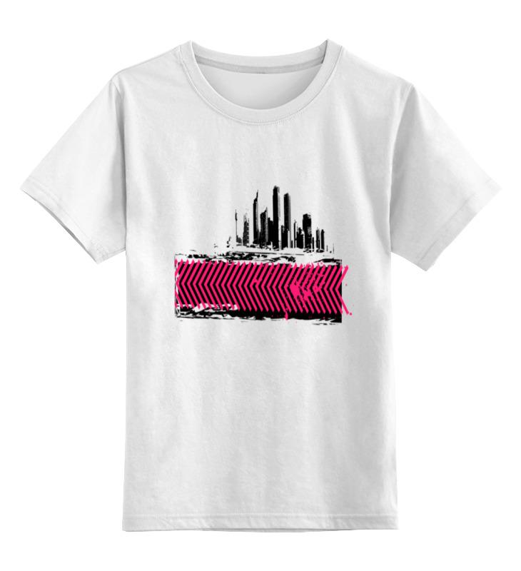 Детская футболка классическая унисекс Printio Москва сити детская сити
