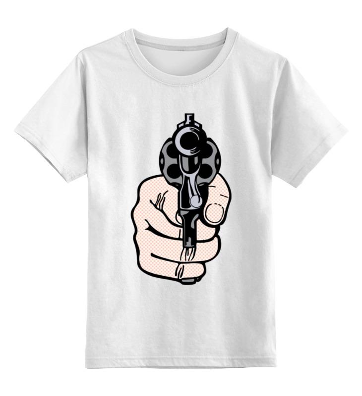 Детская футболка классическая унисекс Printio Рука с пистолетом майка классическая printio рука с пистолетом