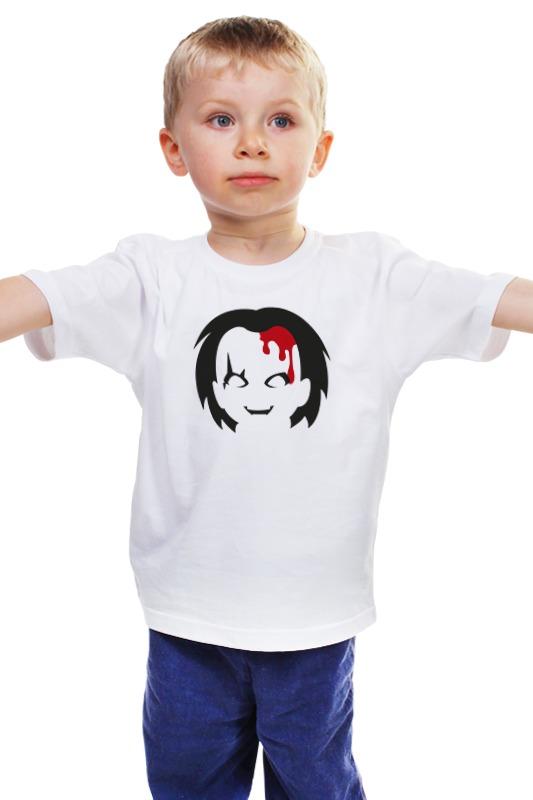 Детская футболка классическая унисекс Printio Чаки (детская игра)