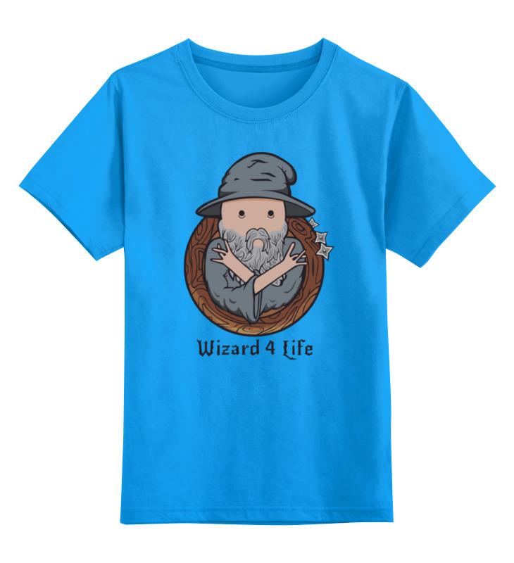 все цены на Детская футболка классическая унисекс Printio Wizard for life онлайн