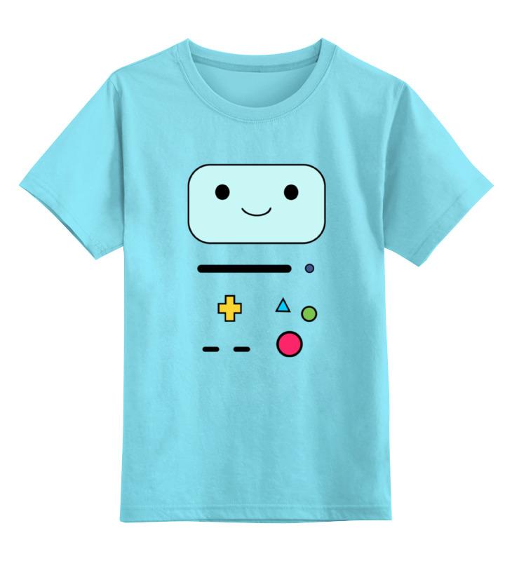 Детская футболка классическая унисекс Printio Bmo the adventure tim