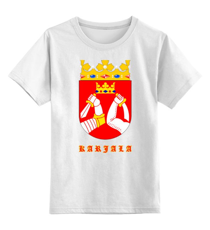 Детская футболка классическая унисекс Printio Сортавала-карелия футболка классическая printio сортавала карелия