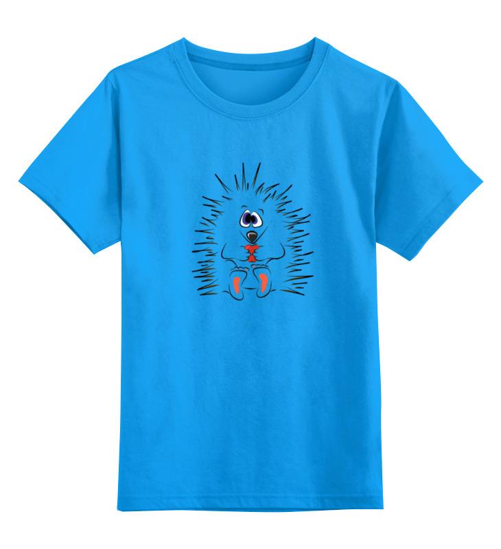 Детская футболка классическая унисекс Printio Ёжик цена и фото