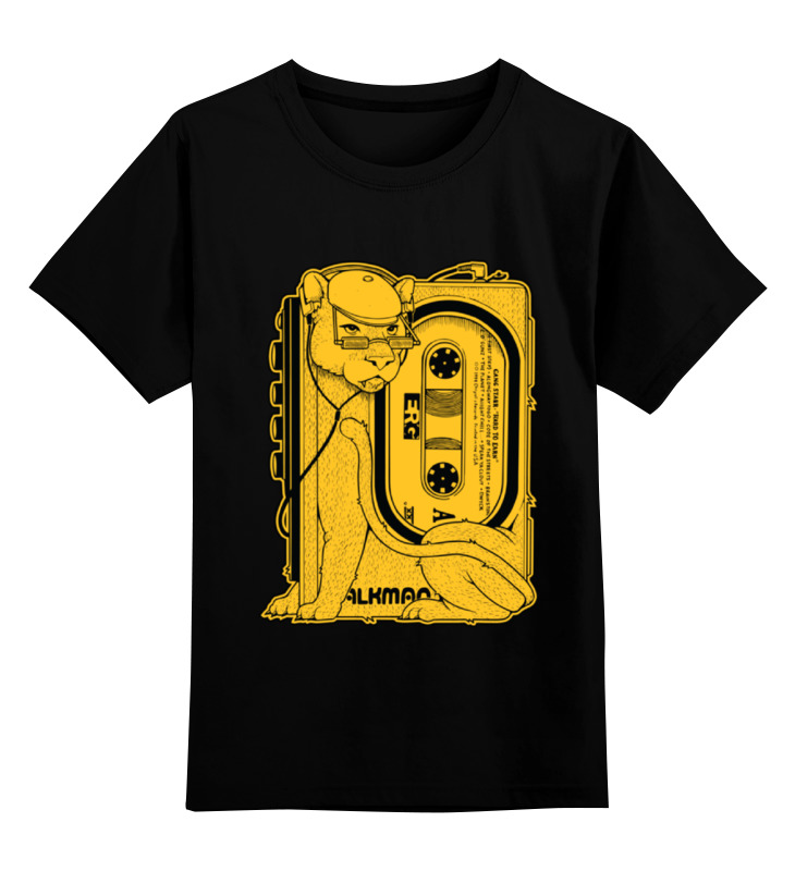 Детская футболка классическая унисекс Printio Walkman walkman