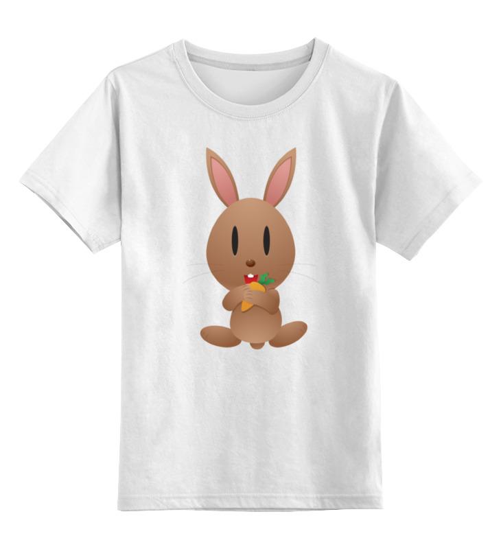 Printio Кролик детская футболка классическая унисекс printio розовый кролик