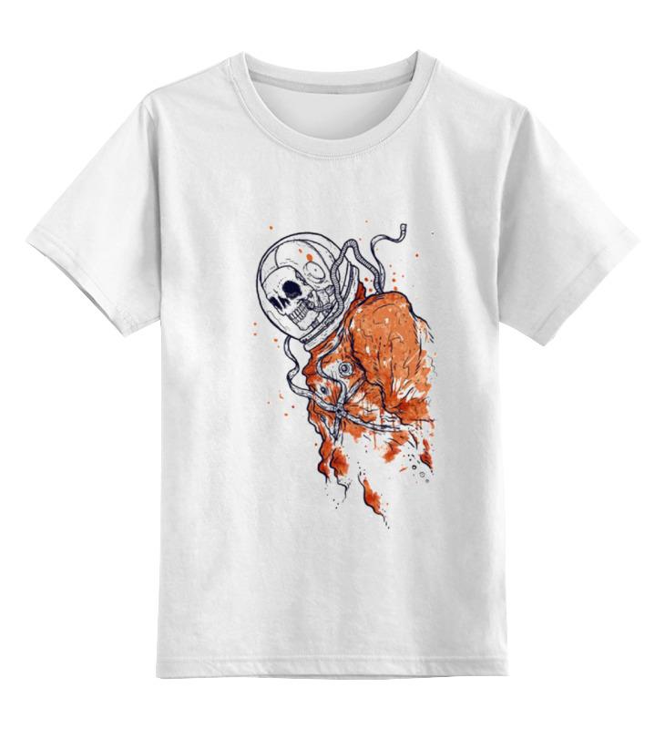 Детская футболка классическая унисекс Printio Портрет космонавта майка классическая printio портрет космонавта