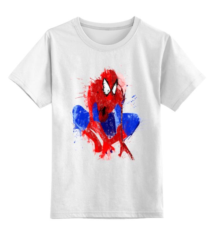 Детская футболка классическая унисекс Printio Spider-man набор канцелярский spider man 2 пр