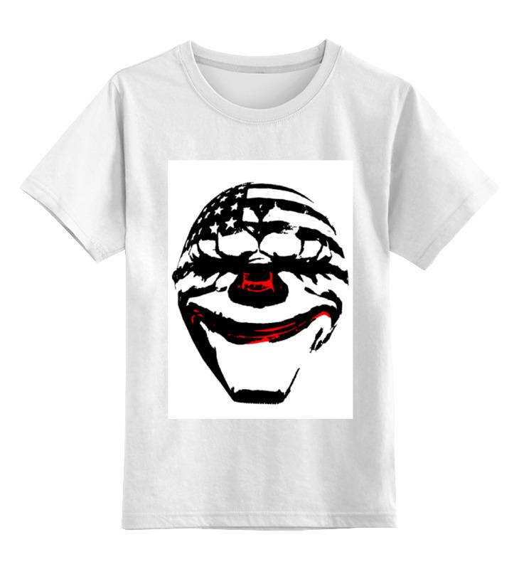 Детская футболка классическая унисекс Printio Payday: the heist