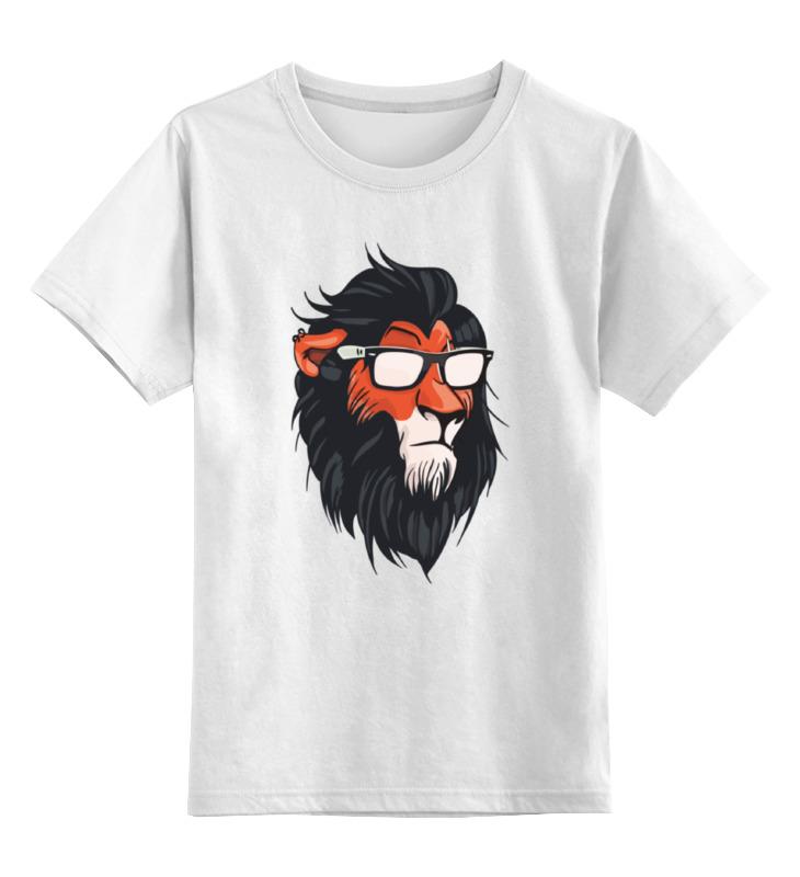 Детская футболка классическая унисекс Printio Шрам (король лев) футболка рингер printio король лев