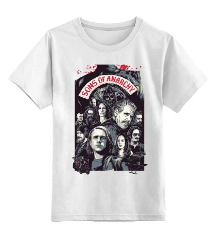 Детская футболка классическая унисекс Printio Сыны анархии футболка wearcraft premium printio сыны анархии