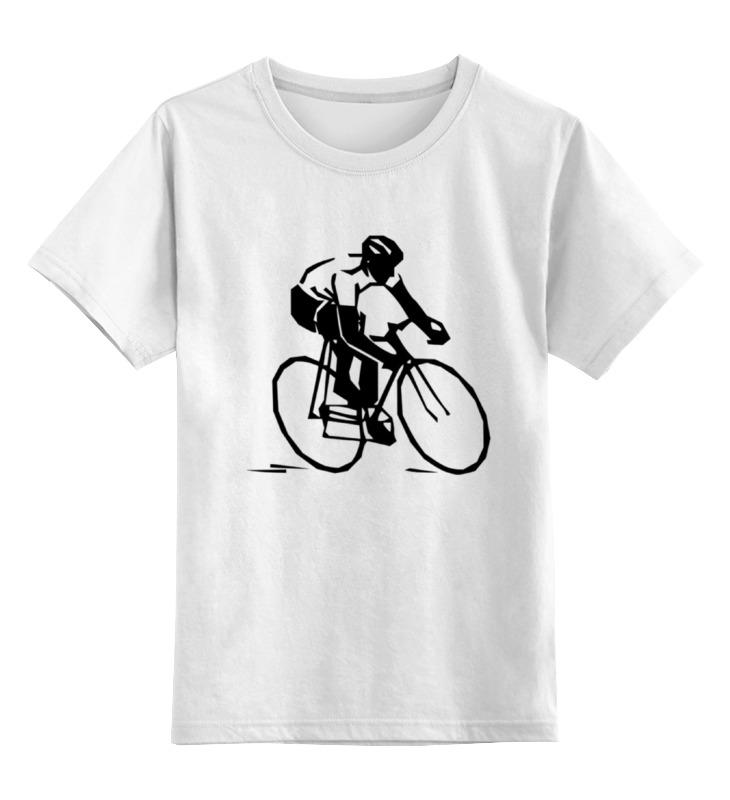 Детская футболка классическая унисекс Printio Велосипедист детская футболка классическая унисекс printio мачете