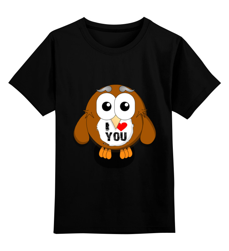 Детская футболка классическая унисекс Printio loving bird цена и фото