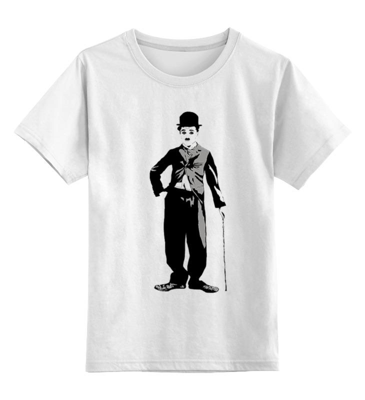 Printio Чарли чаплин детская футболка классическая унисекс printio чарли браун существо