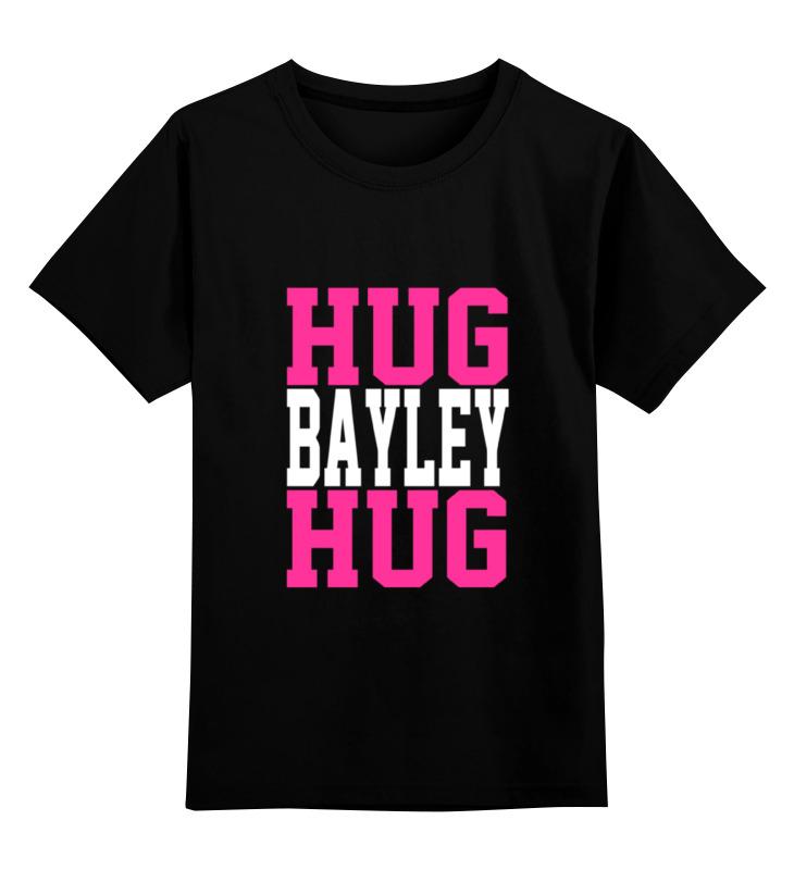 Детская футболка классическая унисекс Printio Hug bayley hug (wwe) lovin hug