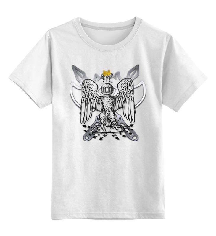 Детская футболка классическая унисекс Printio Орел . детская мебель орел