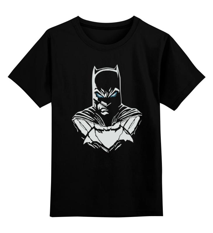 Детская футболка классическая унисекс Printio Batman