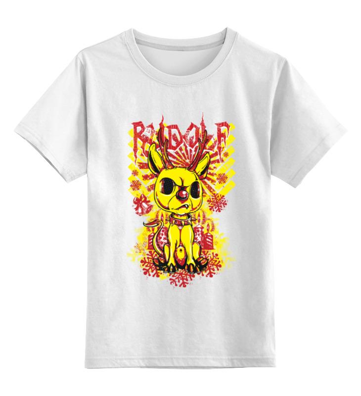 Детская футболка классическая унисекс Printio Смешной зверёк цена и фото