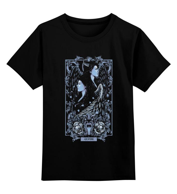 цены Детская футболка классическая унисекс Printio Близнецы (зодиак)