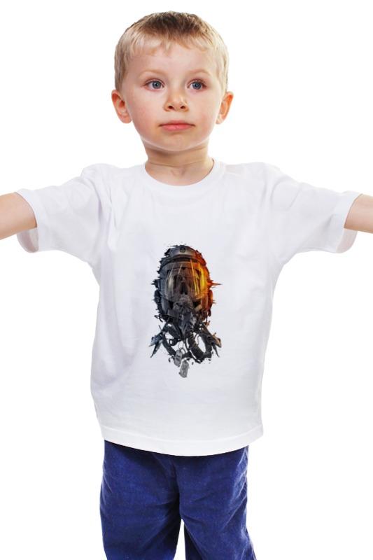 Детская футболка классическая унисекс Printio Пилот зид 50 пилот б у