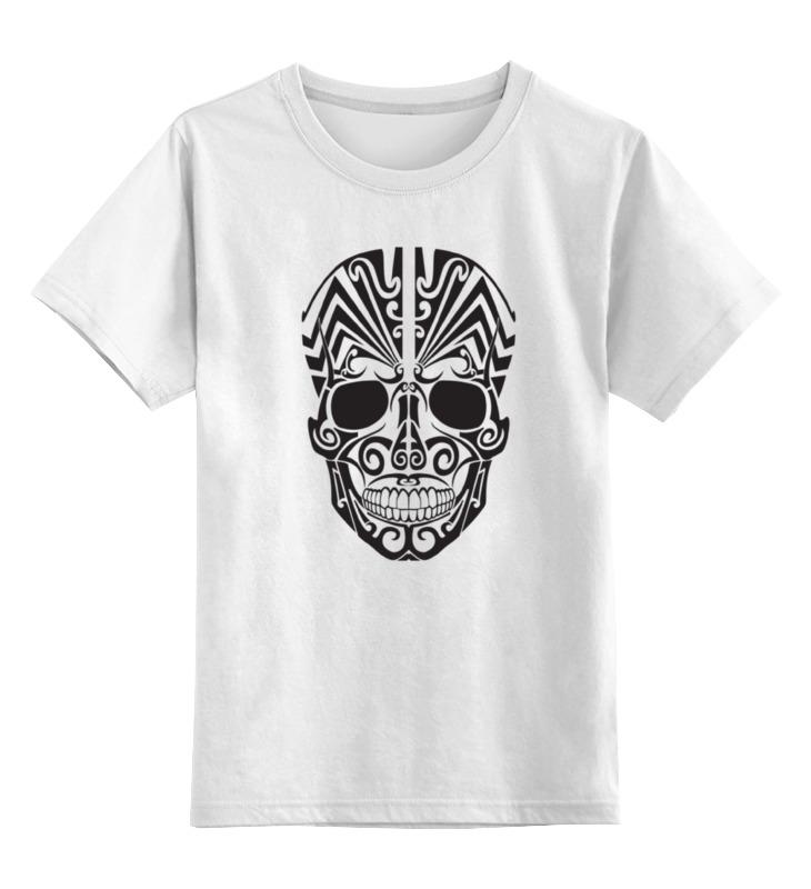 Детская футболка классическая унисекс Printio Череп №2 футболка классическая printio 62 2% в саратове