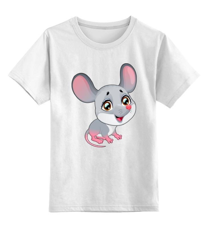 Printio Мышонок детская футболка классическая унисекс printio дождливый вечер