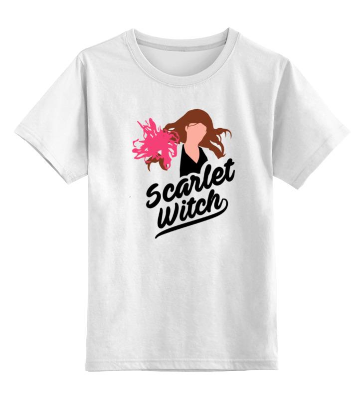 Детская футболка классическая унисекс Printio Алая ведьма алая нить