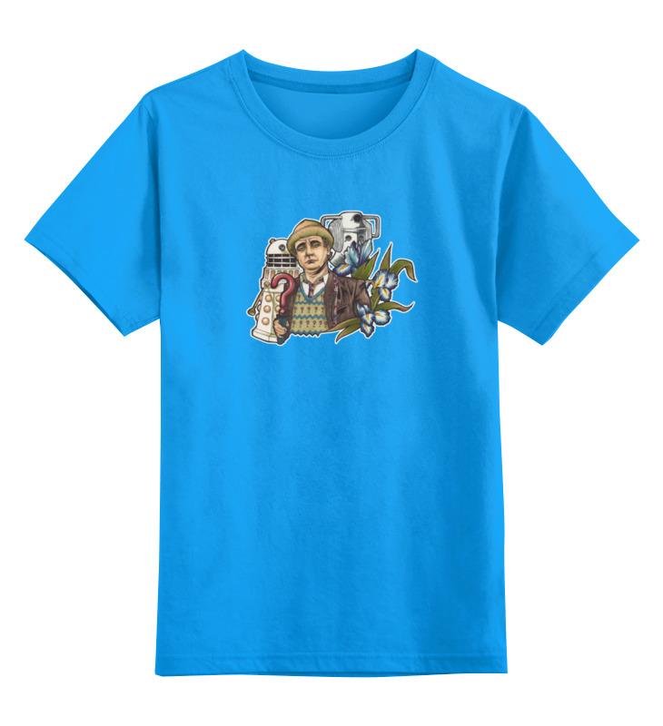 Детская футболка классическая унисекс Printio 7-ой доктор кто цена и фото