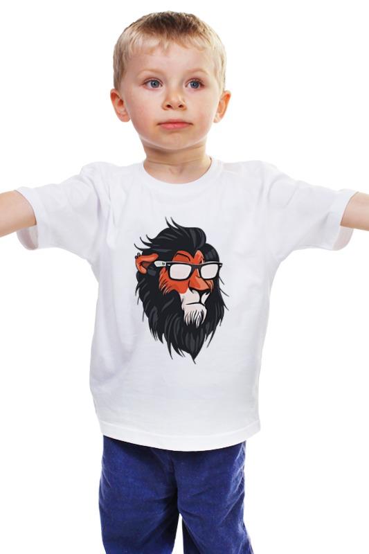 Детская футболка классическая унисекс Printio Шрам (король лев) детская футболка классическая унисекс printio лев