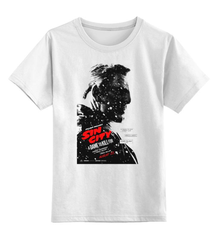 Детская футболка классическая унисекс Printio Sin city / город грехов детская футболка классическая унисекс printio sin city jessica alba