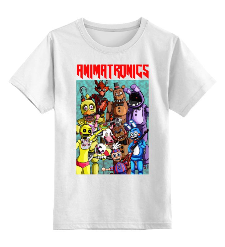 Детская футболка классическая унисекс Printio Animatronics детская футболка классическая унисекс printio nobel prize