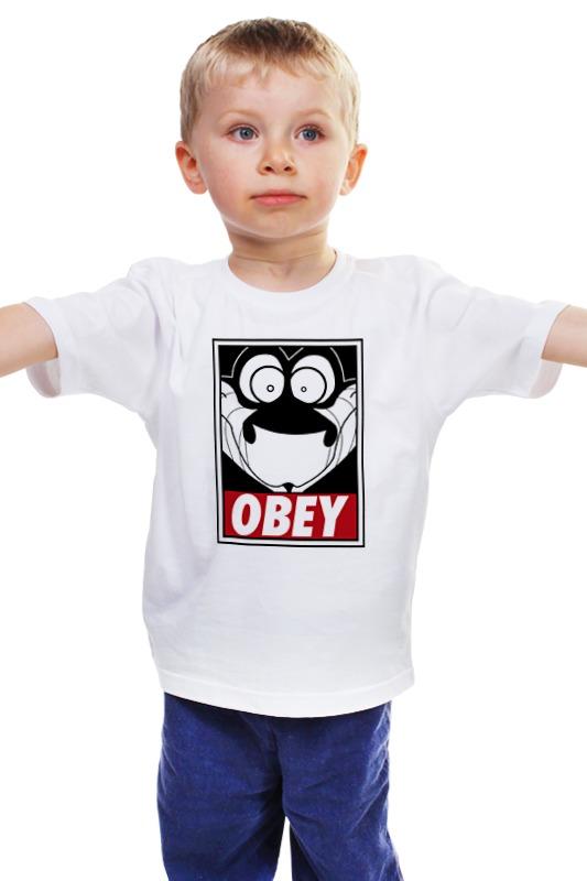 Детская футболка классическая унисекс Printio Каа (книга джунглей) футболка классическая printio книга джунглей