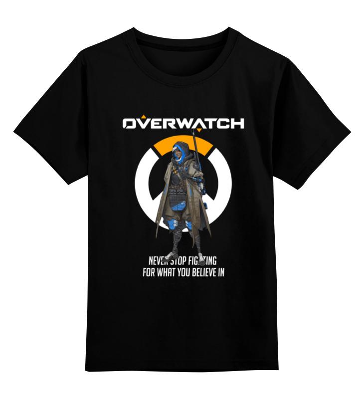 Printio Overwatch. ана детская футболка классическая унисекс printio overwatch