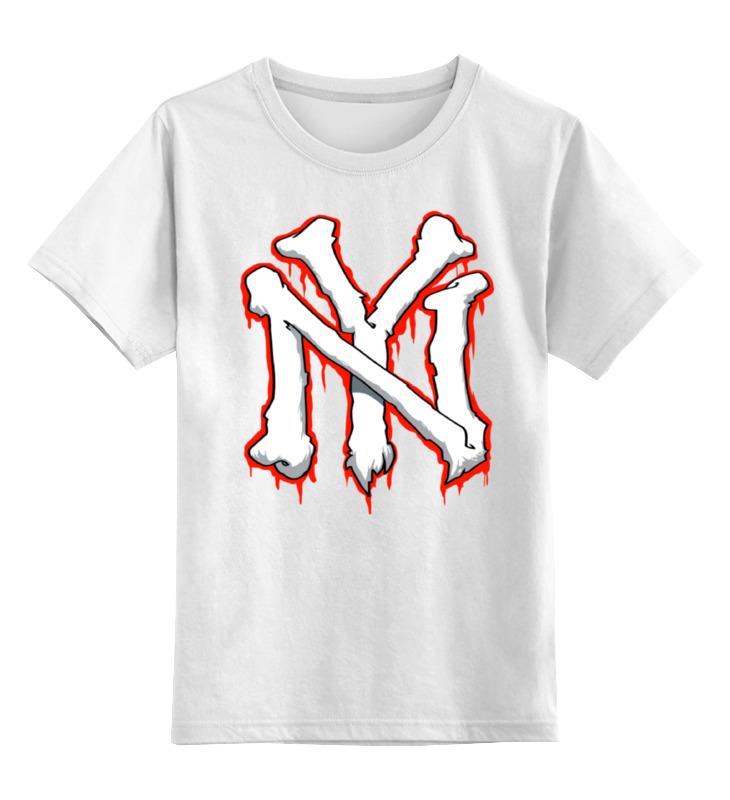Детская футболка классическая унисекс Printio Нью йорк sbart upf50 rashguard 2 bodyboard 1006