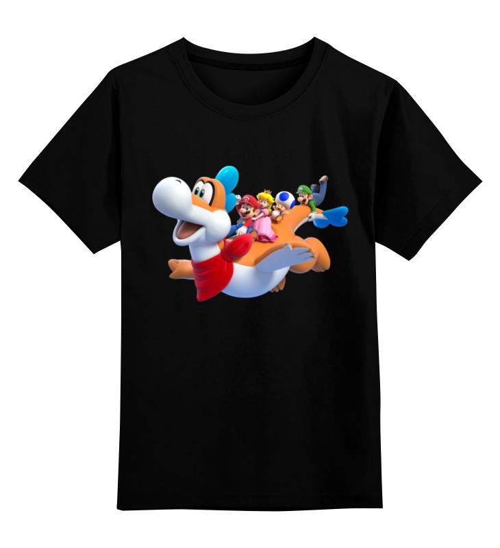Детская футболка классическая унисекс Printio Супер марио детская футболка классическая унисекс printio супер марио