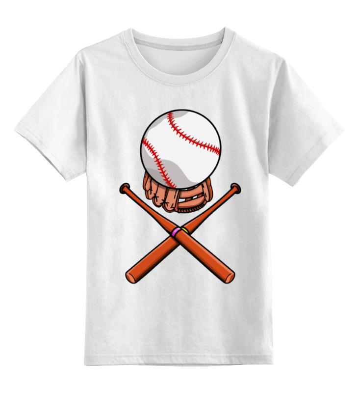 Printio Биты и мяч (бейсбол) детская футболка классическая унисекс printio красный мяч