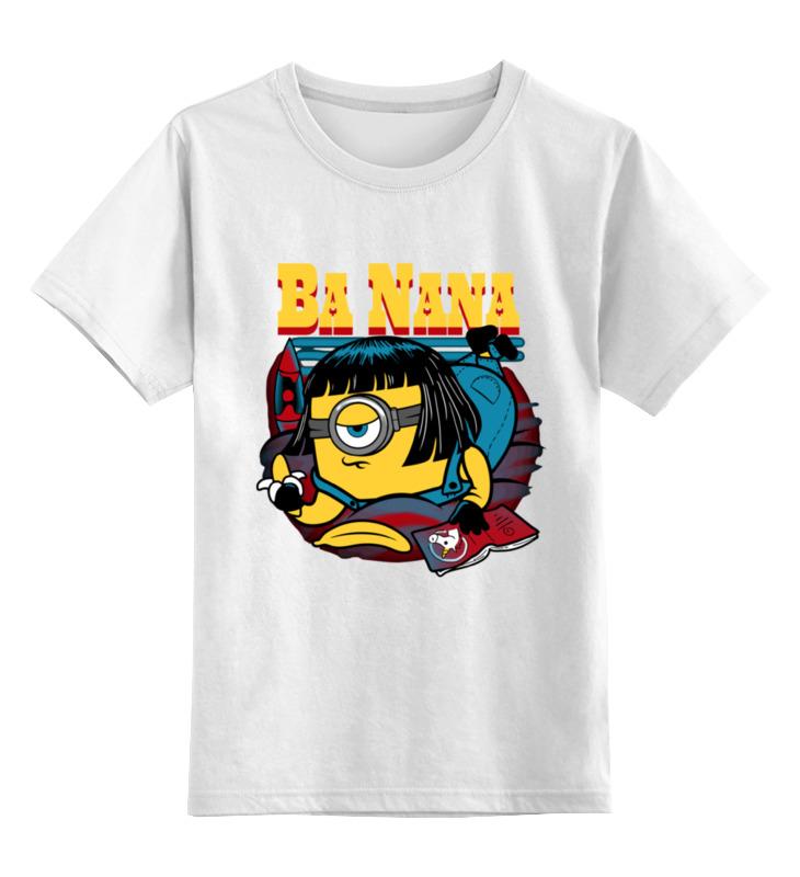 Детская футболка классическая унисекс Printio Banana fiction свитшот print bar banana fiction
