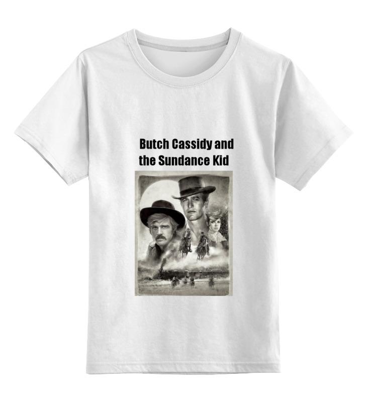 Детская футболка классическая унисекс Printio Бутч кэссиди и санденс кид футболка wearcraft premium slim fit printio бутч кэссиди и санденс кид