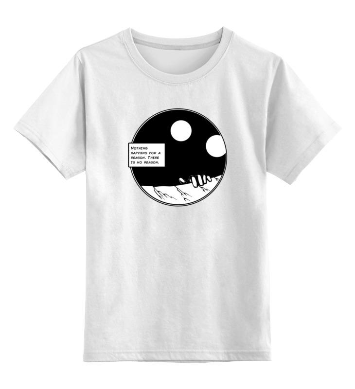 Детская футболка классическая унисекс Printio No reason блуза season 4 reason season 4 reason mp002xw1alf7