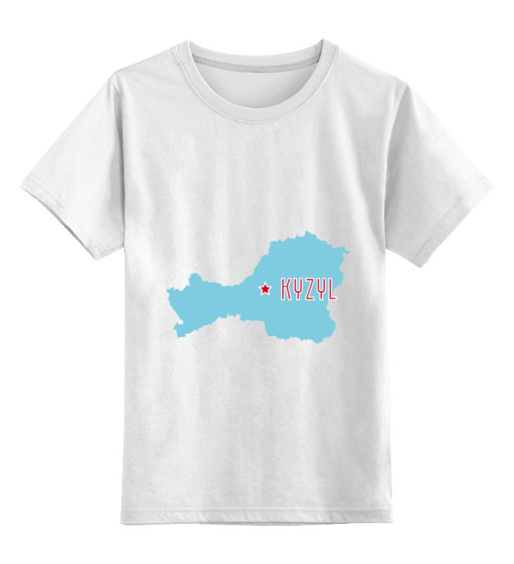 Детская футболка классическая унисекс Printio Республика тыва. кызыл футболка рингер printio республика удмуртия ижевск