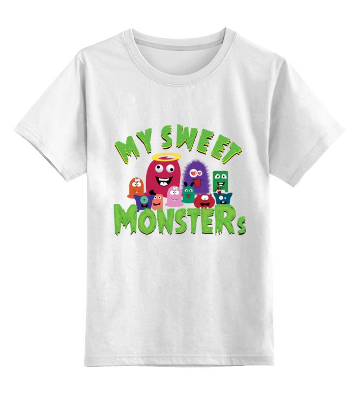 Детская футболка классическая унисекс Printio Пушистые монстры детская футболка классическая унисекс printio мачете