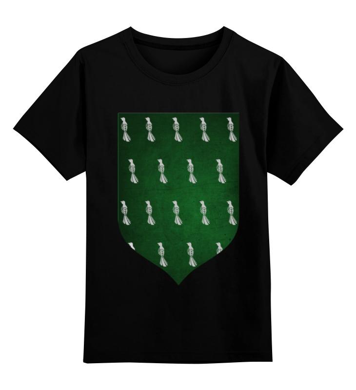 Детская футболка классическая унисекс Printio Игра престолов герб бейлишей цена и фото